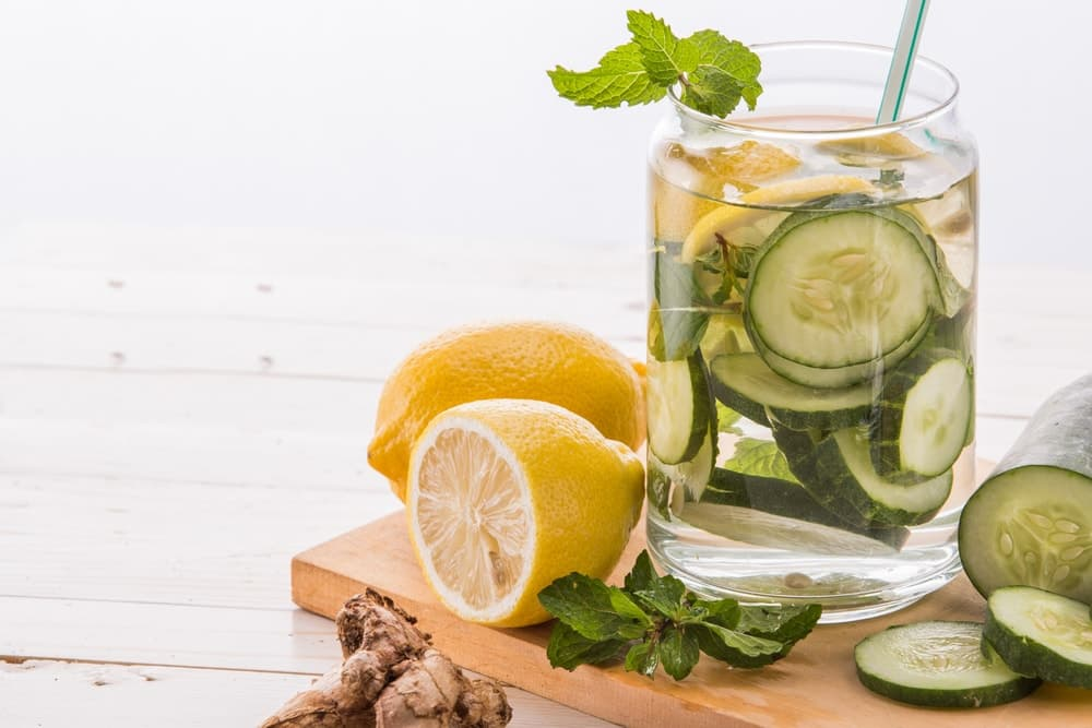 5 Detox Water Recipes for a Flatter Stomach